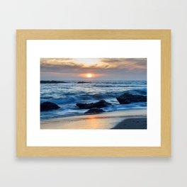 Crystal Cove, Laguna Beach Framed Art Print