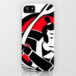 samurai cereal iPhone Case