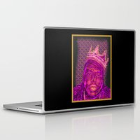 notorious Laptop & iPad Skins featuring B.I.G Notorious by Dewi Gale