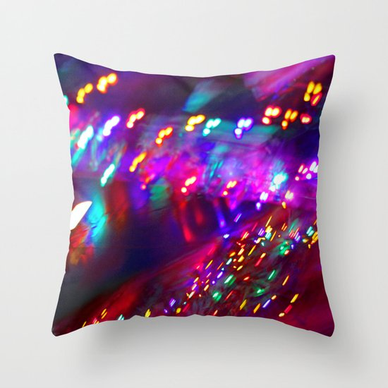 Visual Music Throw Pillow