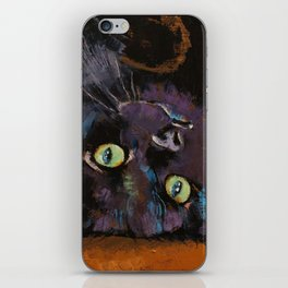 Upside Down Kitten iPhone Skin