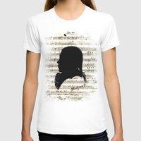 mozart T-shirts featuring Mozart - Dies Irae by viva la revolucion