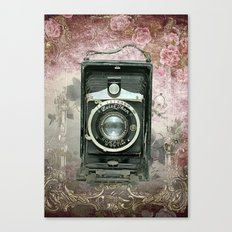 Lady Photographer Canvas Print