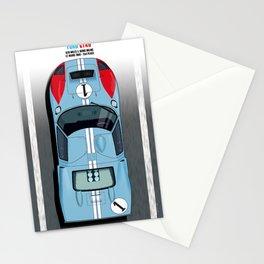 Ken Miles, Denis Hulme GT40, Le Mans 2nd 1966 Stationery Cards