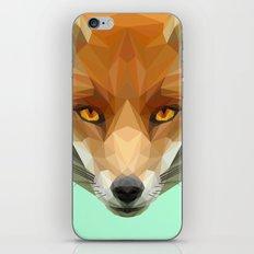 Poly the Fox iPhone & iPod Skin