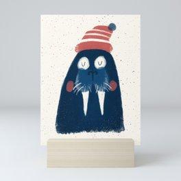 Wally The Walrus Mini Art Print