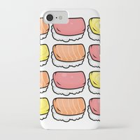 sushi iPhone & iPod Cases featuring Sushi by ocamixn