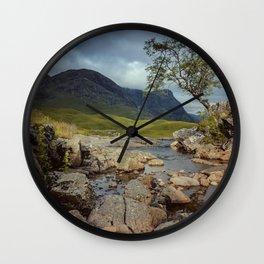 The Tree at Glencoe Wall Clock