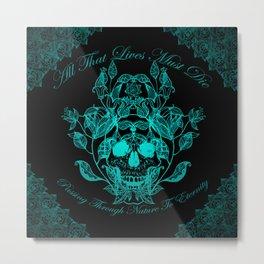 All That Lives V2 Metal Print
