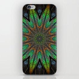 Feather Kaleidoscope iPhone Skin