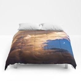 Clouds, Birds, Moon, Venus Comforters