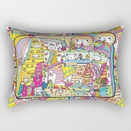 cartoon wonderland Rectangular Pillow