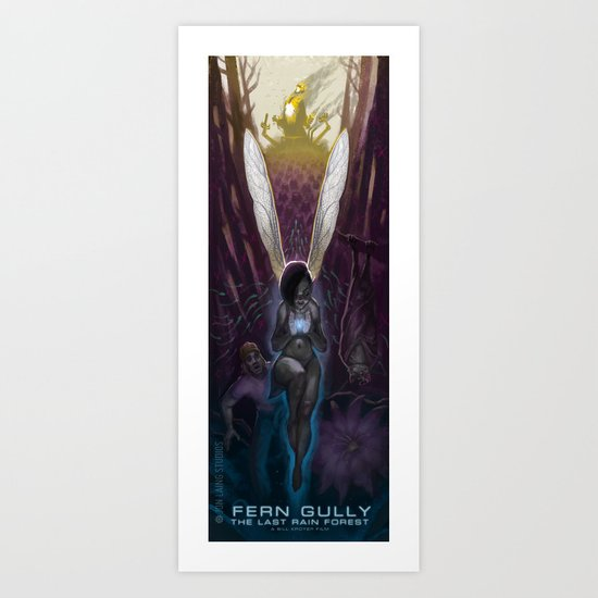 Fern Gully Art Print