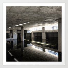 #54Photo #Archive #LightBringsBeauty #WaterReflection #Perspective #BuildingSite #NoFilter Art Print