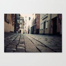 Poznan...an intimate encounter Canvas Print