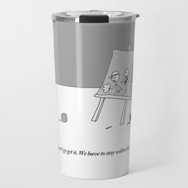 stay within the lines Travel Mug