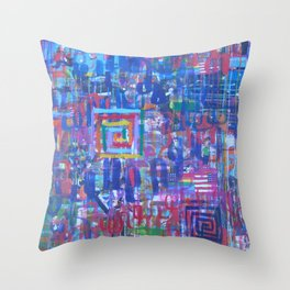 Beauty is on the Inside Throw Pillow