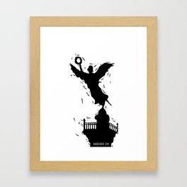El Angel de la Independencia Framed Art Print
