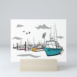 Tillamook Coast Travel Print Mini Art Print