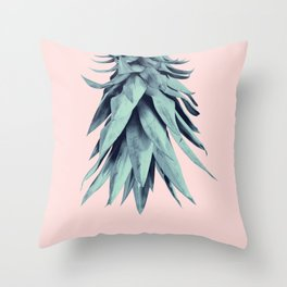 Pineapple Upside Down #2 #tropical #fruit #decor #art #society6 Throw Pillow
