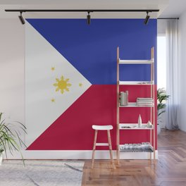 Philippines flag emblem Wall Mural
