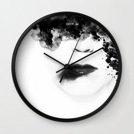 Leave Wall Clock