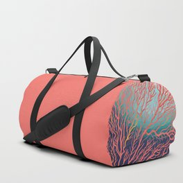 Coral Duffle Bag