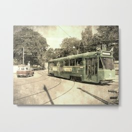 Old Trolley Route Metal Print