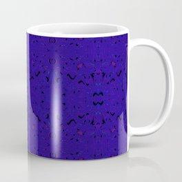 Deep Purple Dreams Pattern Coffee Mug