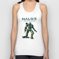 halo Tank Tops featuring Halo 5 by ezmaya