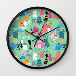 Artbuns Wall Clock