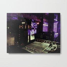 Audio Slave Metal Print