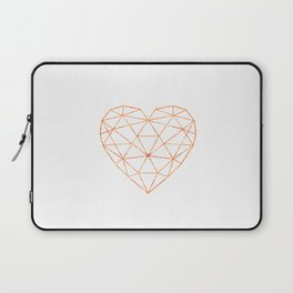 COPPER HEART (WHITE) Laptop Sleeve