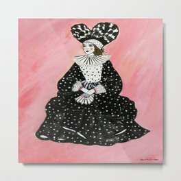 Queen of Dots~ Metal Print