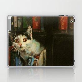 The Writer's Cat Laptop & iPad Skin