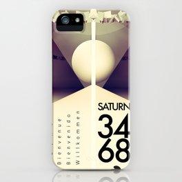 Saturn 3468 iPhone Case