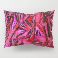 red flow Pillow Sham