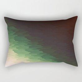 Forest Texture Ombre Rectangular Pillow