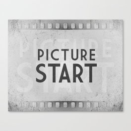 Picture Start Frame Canvas Print