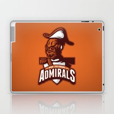 Mon Calamari Admirals on Orange Laptop & iPad Skin