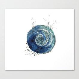 Blue Tradewinds Canvas Print