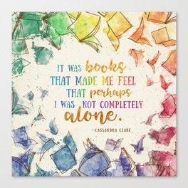 It was books Canvas Print