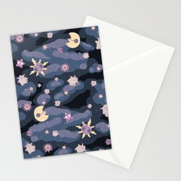 Cuties in Space Stationery Cards