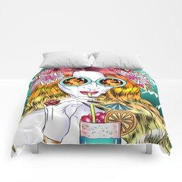 Beach Frenzy Comforters