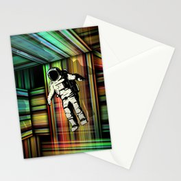 Trapped in Multiple Time Dimension Stationery Cards