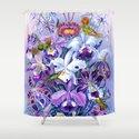 Orchids & Hummingbirds by vintageeraart