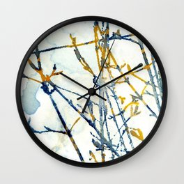 At The Window Wall Clock