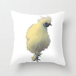 Silkie Throw Pillow