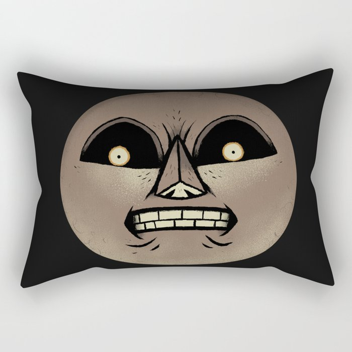 THE MOON. Rectangular Pillow