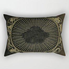 Astrology Book Cover Rectangular Pillow